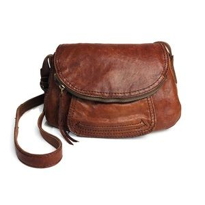 Lucky Brand Crossbody Handbag Italian Leather